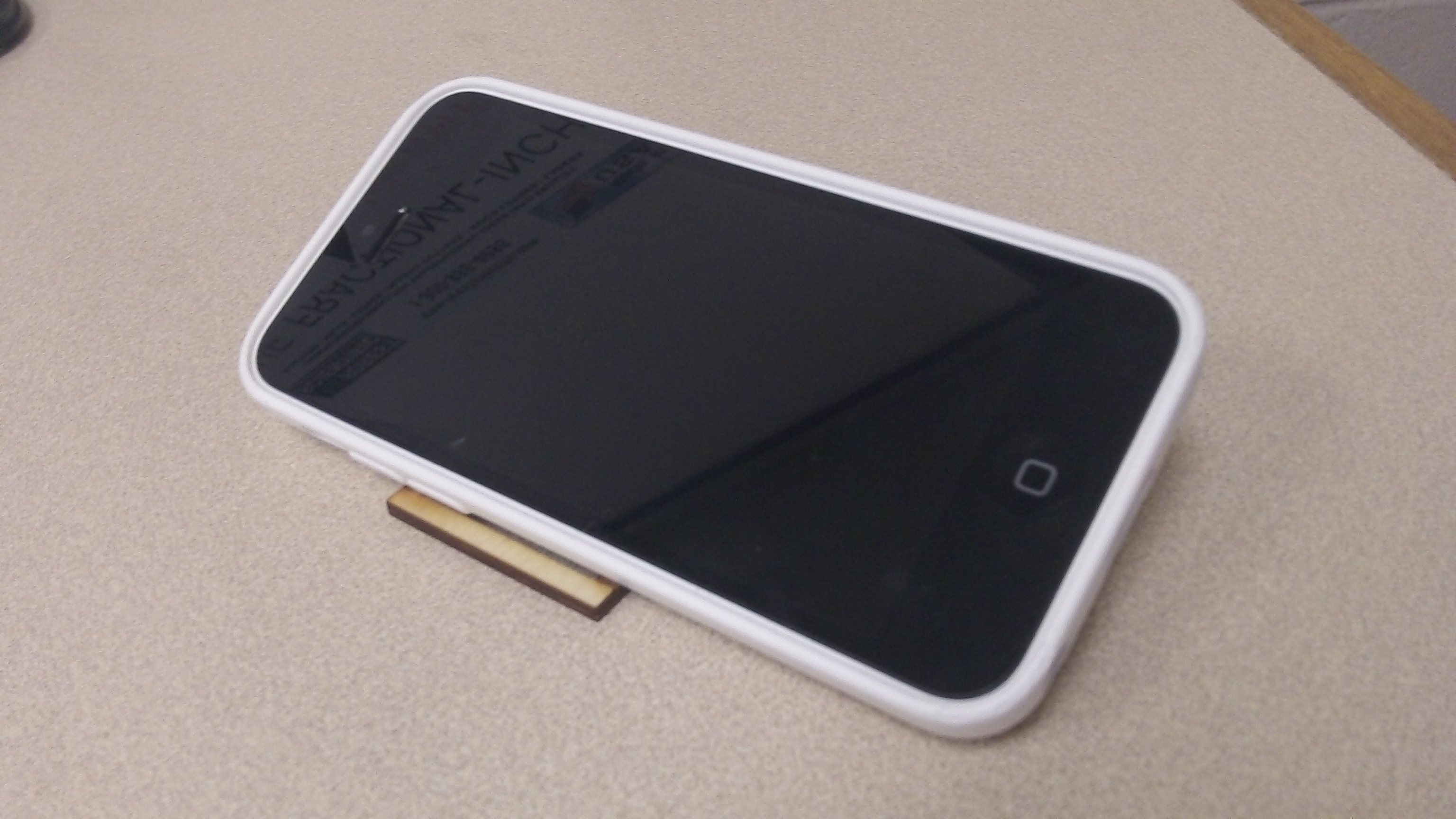 Picture of Living Hinge Smart Phone Stand