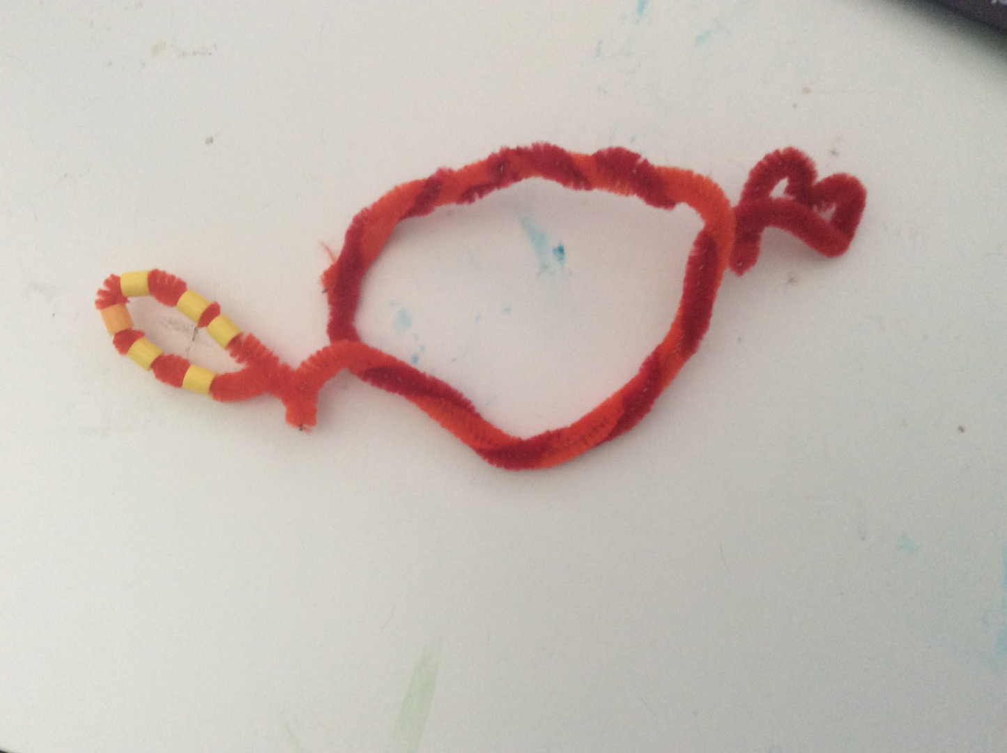 Picture of Fun Pipe Cleaner Braclet