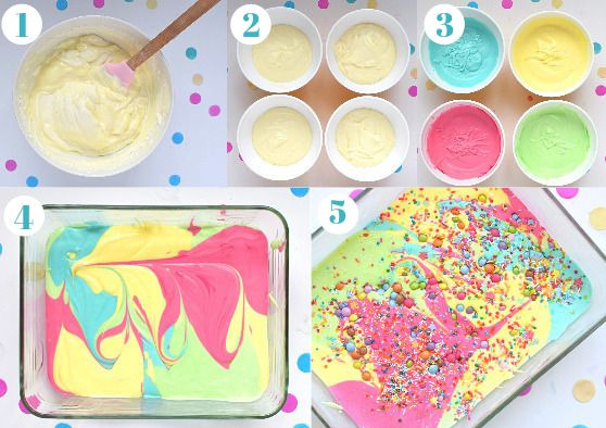 Picture of Rainbow Ice Cream