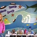 "EASY MODE:  ""Ponyo"" Wall Mural"