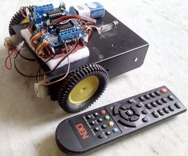 Make Yourself a TV Remote Controlled Arduino Robot!