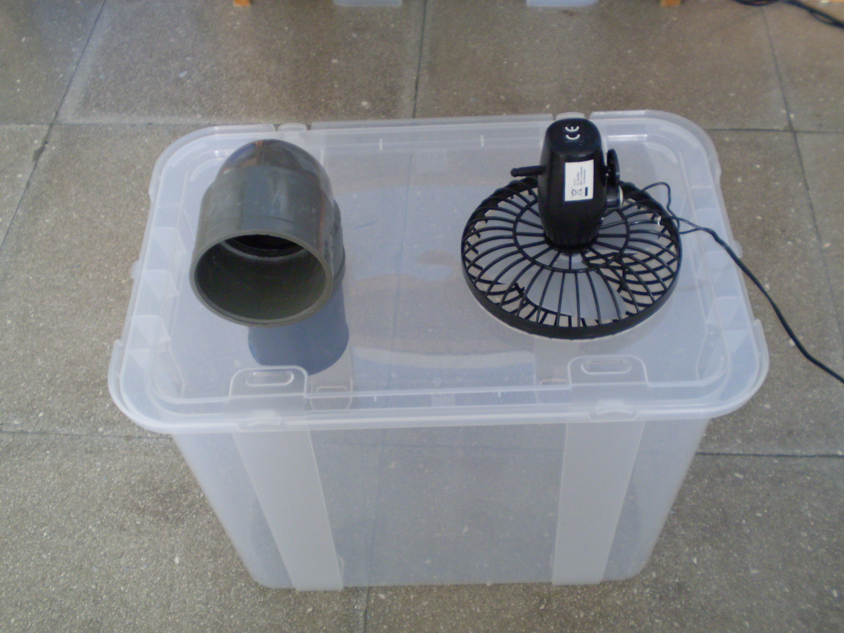 Picture of Simple Cheap Air Conditioner(Cooler)