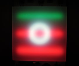 LED Music Light Box