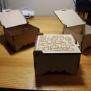 Laser Cut Jewelry Boxes (customizable lids)