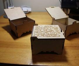 Laser Cut Jewelry Boxes (customizable lids)