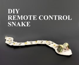 How to Make a Remote Control Snake