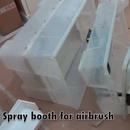 DIY Airbrush Spray Booth