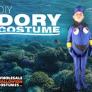 DIY Dory Halloween Costume