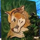 Cardboard Cougar
