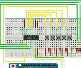 PCF8574 (i2c Digital I/O Expander) Fast Easy Usage