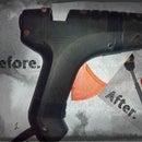 Broken glue gun to a new tool.