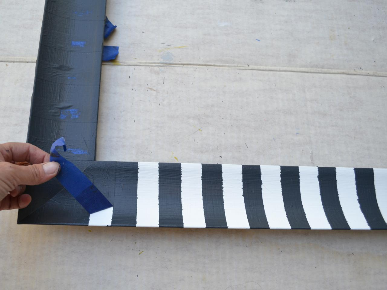 Picture of  Let Dry and Remove Tape