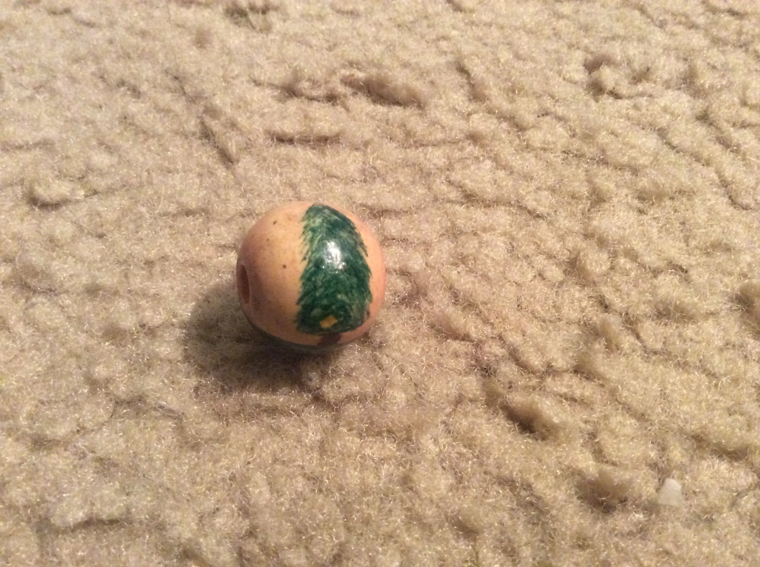 Picture of Bead #2: Thalia's Pine Tree