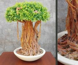 DIY Banyan Tree / Bonsai Tree