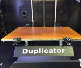 Maximizing 3D Printer Build Space