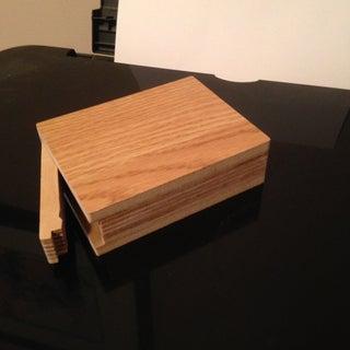 Wooden Deck Box