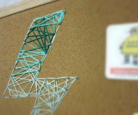 String Art Cork board