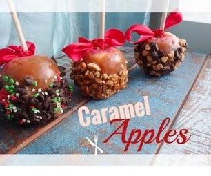 Homemade Caramel Apples