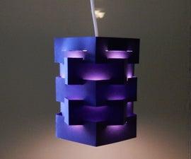 DIY Pendant Lamp (pentagon)