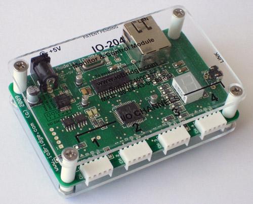 Picture of Setup the IoBridge IO-204 Controller
