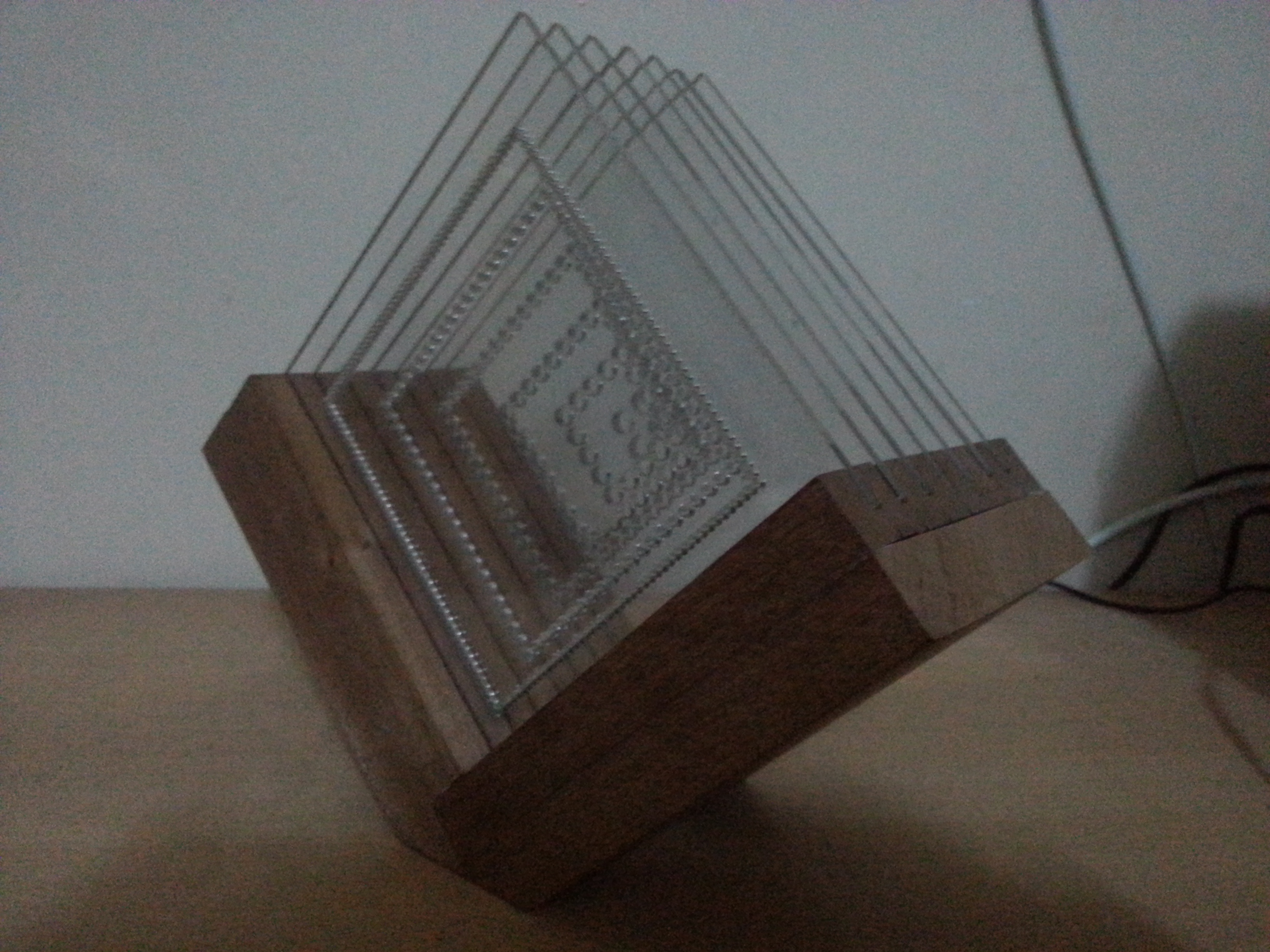 Picture of Wooden Plexi Lighting