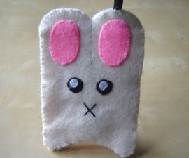 Bunny Bus Pass Holder (with light)