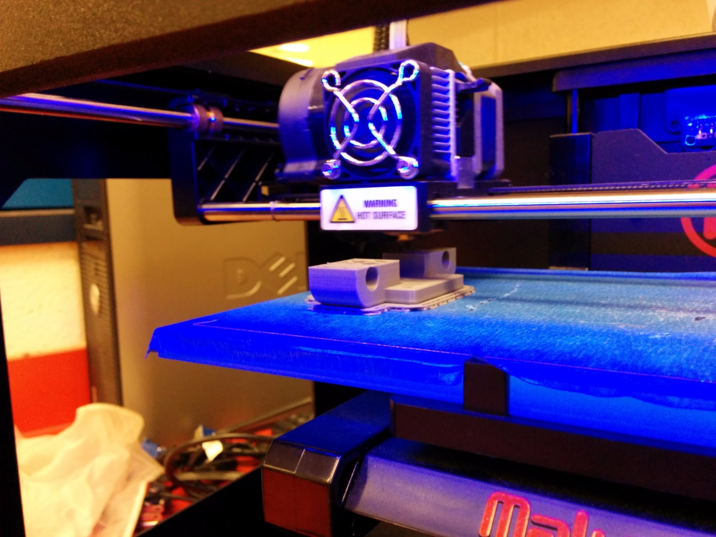 Picture of 3D Printing and Assembling the Y-Axis