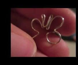 Beginner How to Make Cute Butterfly Stud Earrings