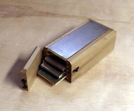 Sharpening Stone Caddy