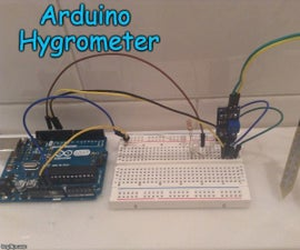 Arduino Hygrometer (Moisture Meter)