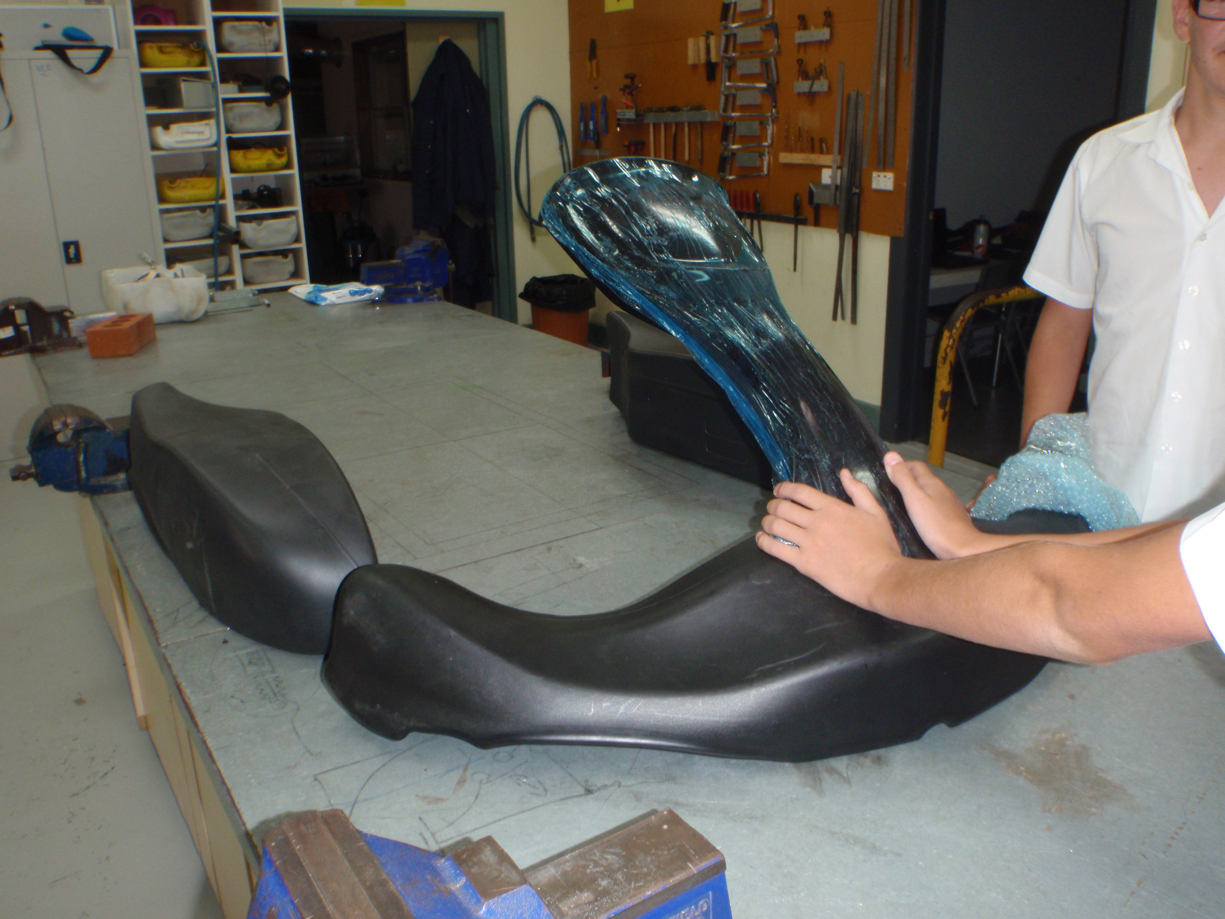 Picture of Fitting Racing Bodywork