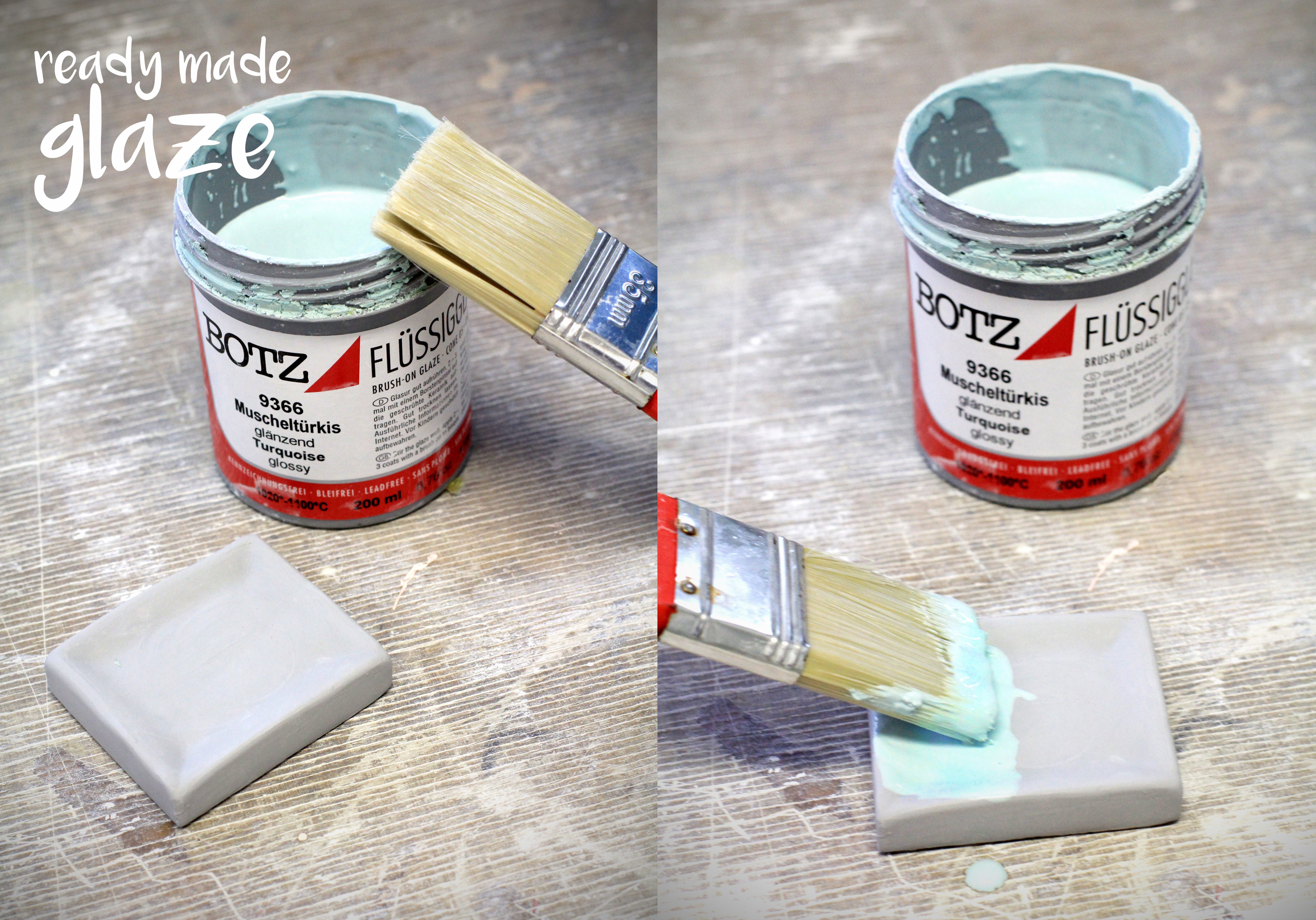 Picture of Glazing Time - 2 Ways