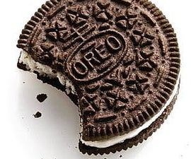 The proper way to eat Oreo Cookies with Milk.