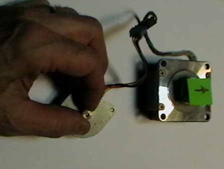 Picture of Two Stepper Motors – Force at a Distance