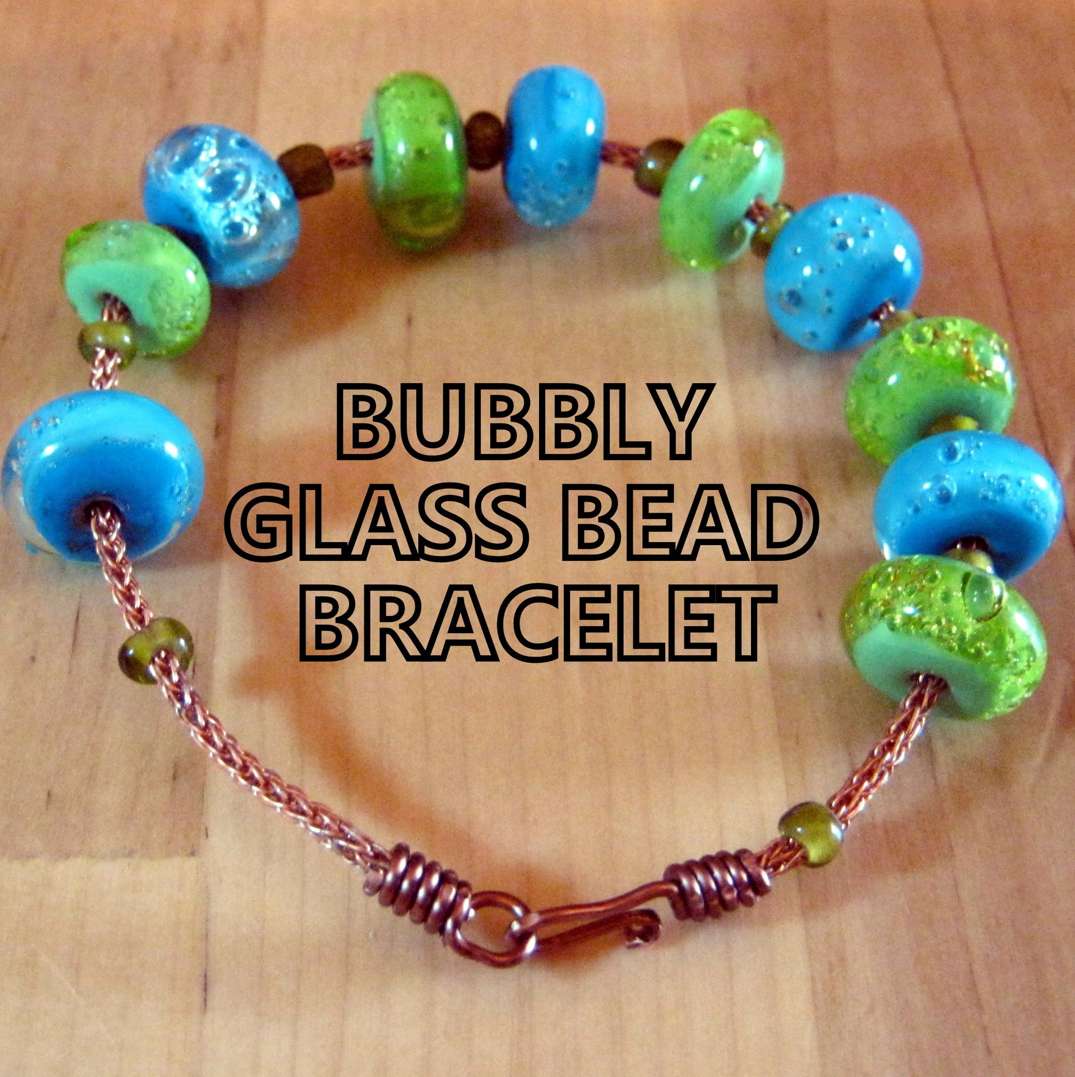 Bubbly Glass Bead Bracelet: 3 Steps (with Pictures)