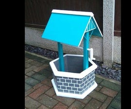 How  to Make a Garden Wishing Well Planter Out of a Pallet