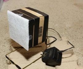 Solder smoke air filter