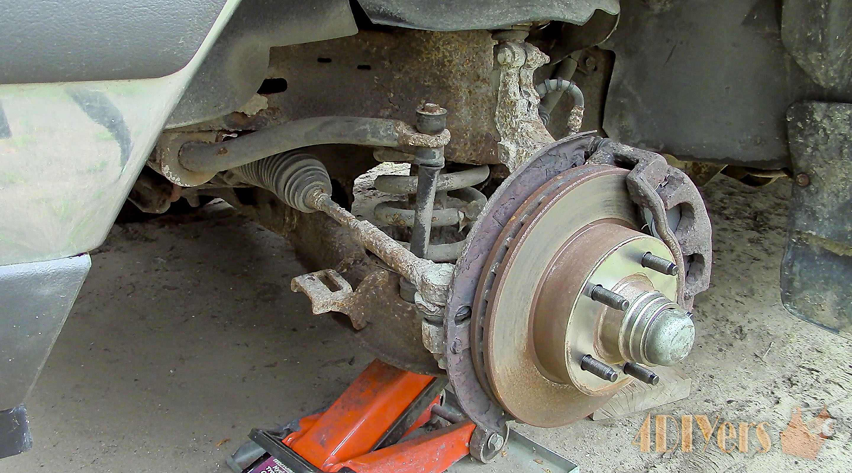 Picture of Sway Bar End Link Replacement