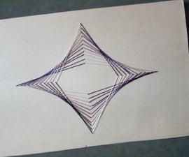 silk thread card