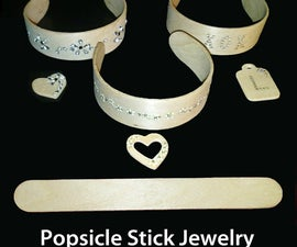 Popsicle Stick Jewelry