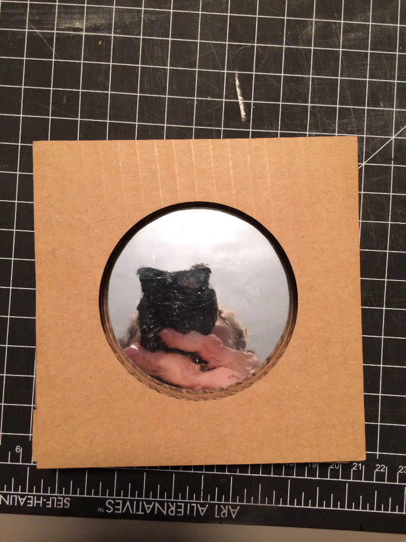 Picture of Construct the Solar Filter Sheet Holder