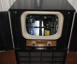 Old Console TV to a Bar