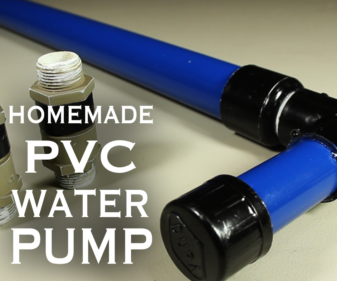 Picture of How to Make a PVC Water / Air / Vacuum Pump!