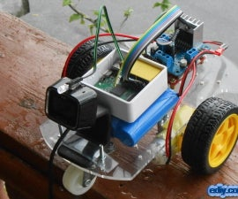 Wi-Fi controlled Remote Control Car without microcontroller