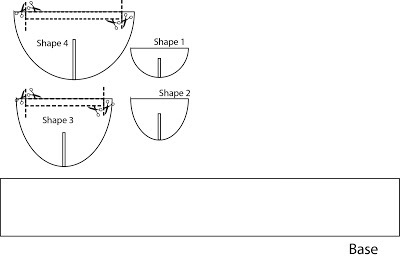 Picture of Cut the Cardboard Sheet Into Shapes Shown in the Below Picture