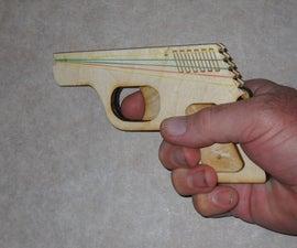 Semi-Automatic Rubber Band Gun