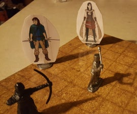 Role Play Minis on a (tiny) Budget