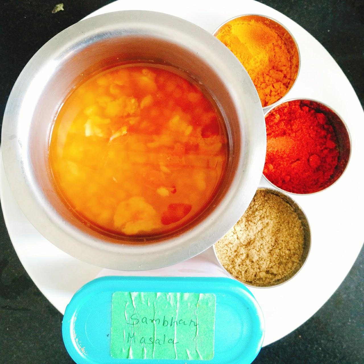 Picture of How to Make Sambhar: