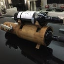 bamboo wine holder