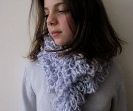 No knit Ruffly Scarf Tutorial